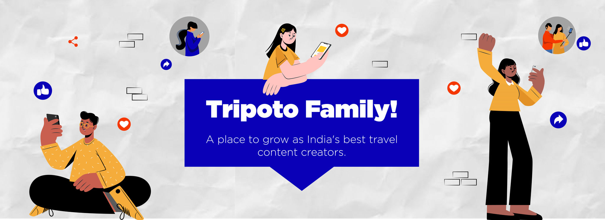 Cover of Welcome to the Tripoto Family!